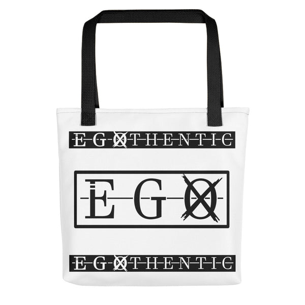 Egothentic Label Tote Bag