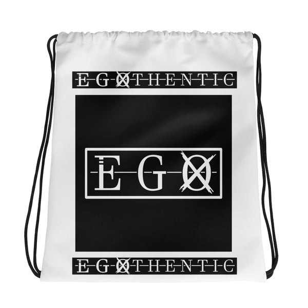 Egothentic Drawstring Bag