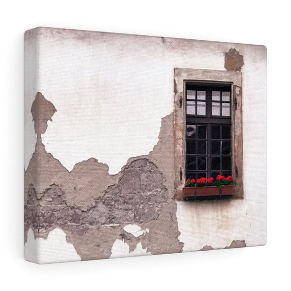Decrepit Beauty Canvas Print, Budapest, Hungary