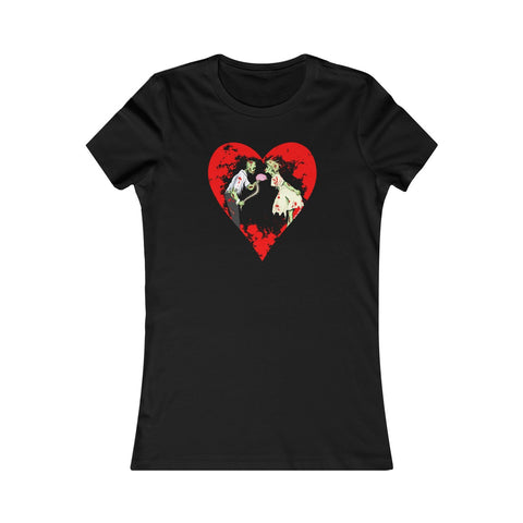 Zombie Love with Heart - Women's T-shirt - FREE Shipping in US