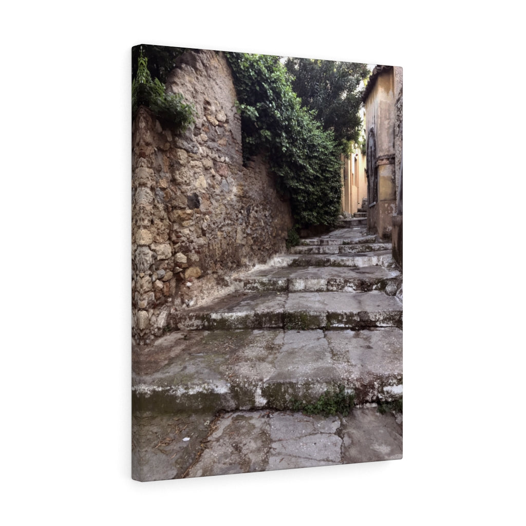 Athens Staircase Canvas Print, Athens, Greece