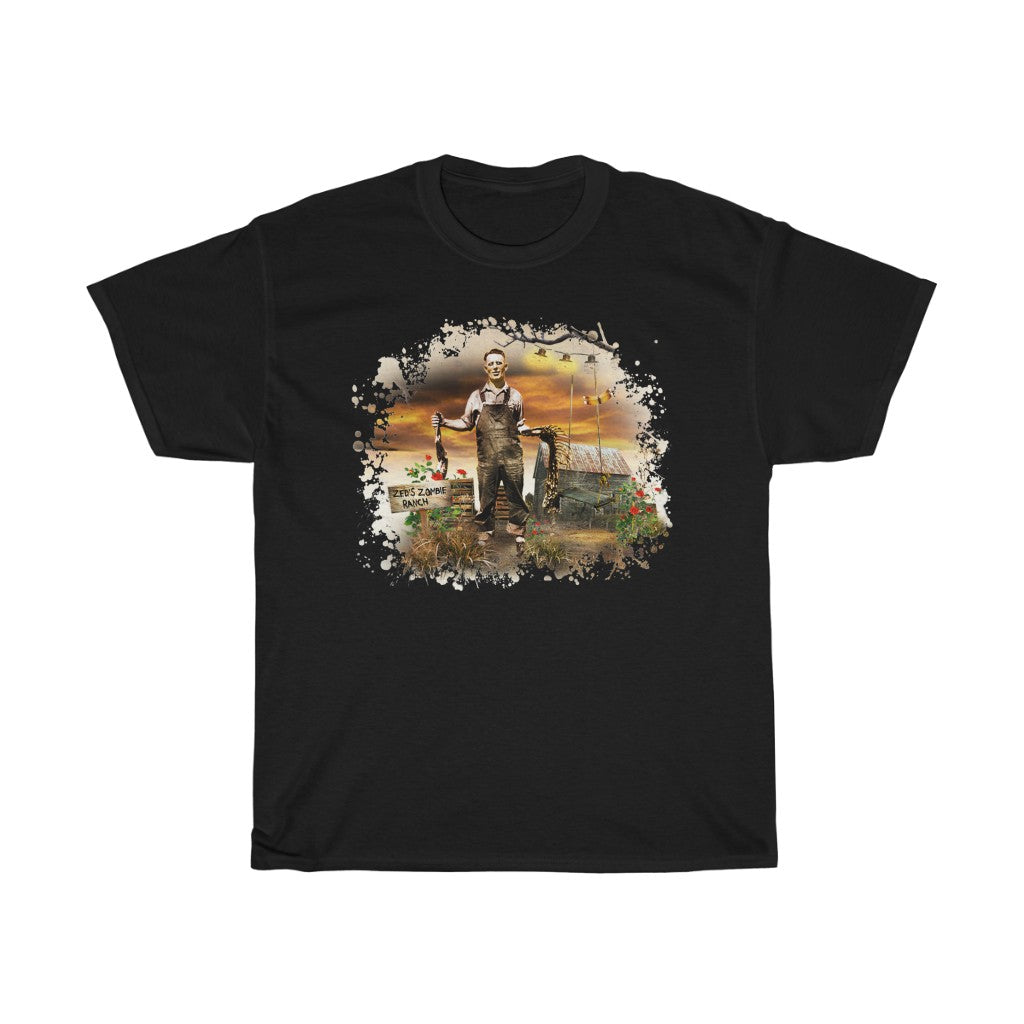 Zombie Shirt - Zed's Zombie Ranch T-Shirt - Men's T-Shirt - FREE shipping in US