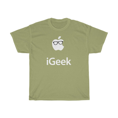 iGeek Apple Parody - Men's T-Shirt - FREE shipping in US