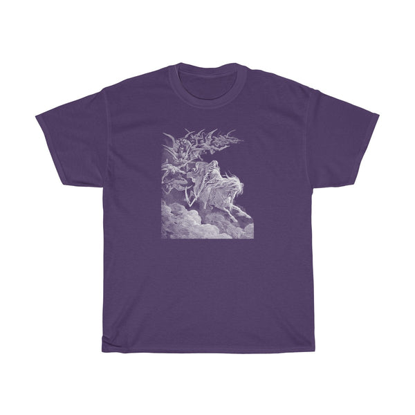Vision of Death by Gustav Dore - Men's T-Shirt - FREE shipping in US