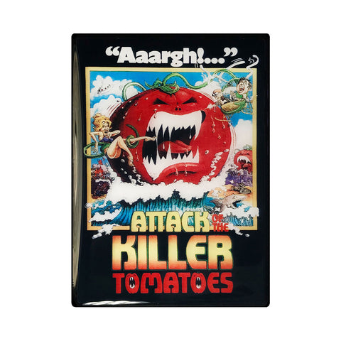 Attack of the Killer Tomatoes Vintage Movie Poster Magnet