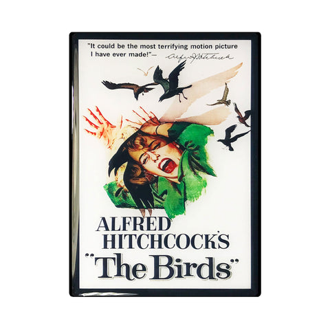 The Birds Vintage Movie Poster Magnet