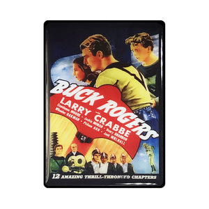 Buck Rogers Vintage Movie Poster Magnet