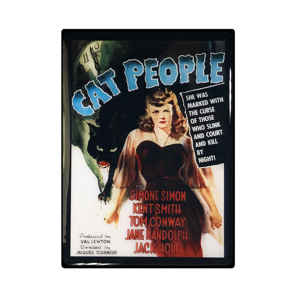 Cat People Vintage Movie Poster Magnet