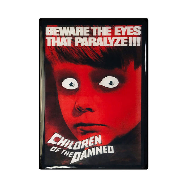 Children of the Damned Vintage Movie Poster Magnet
