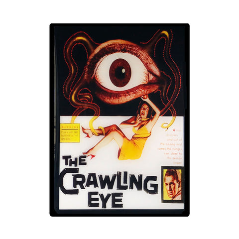 The Crawling Eye Vintage Movie Poster Magnet