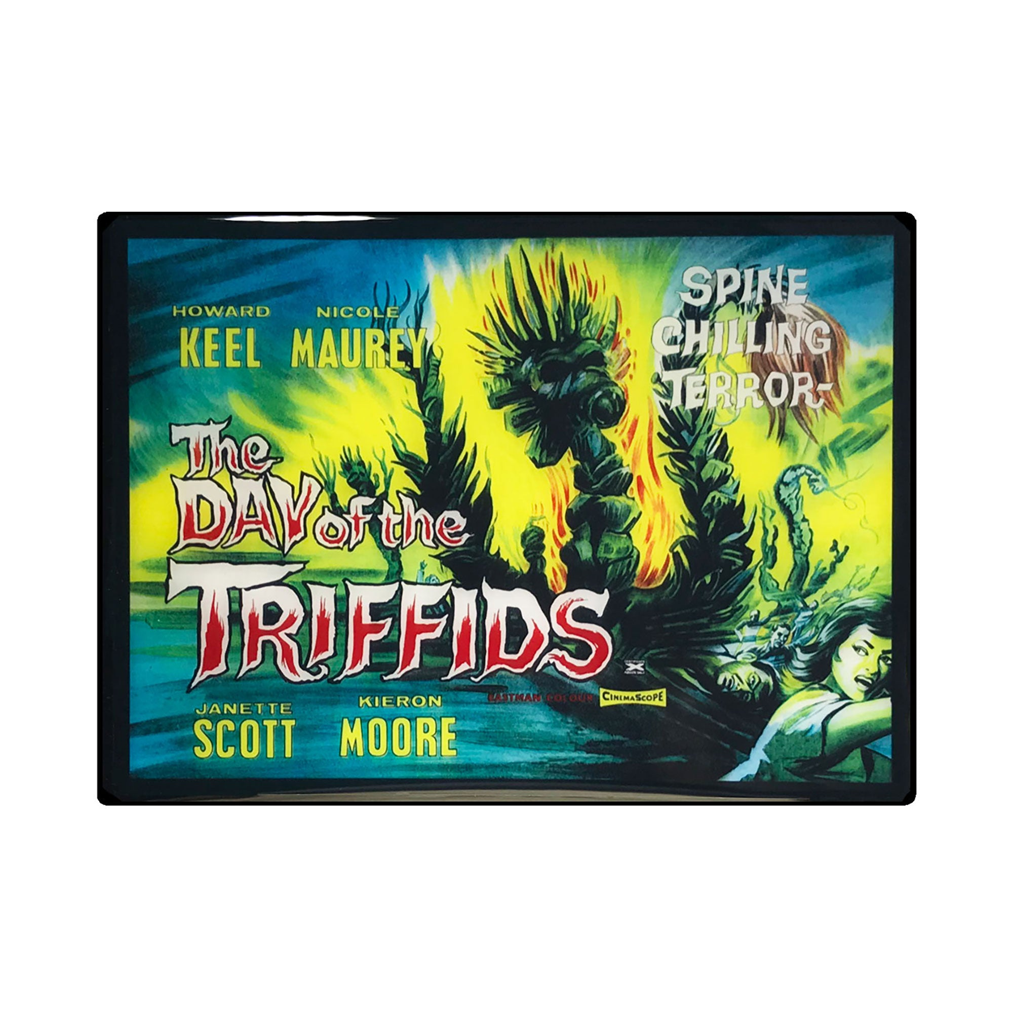 Day of the Triffids Vintage Movie Poster Magnet