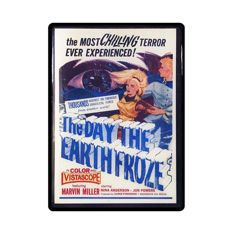 The Day the Earth Froze Vintage Movie Poster Magnet