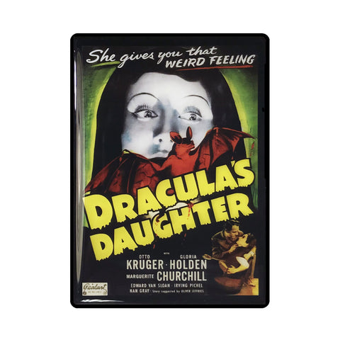 Draculas Daughter Vintage Movie Poster Magnet