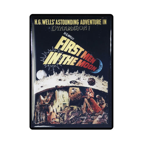 First Men in the Moon Vintage Movie Poster Magnet