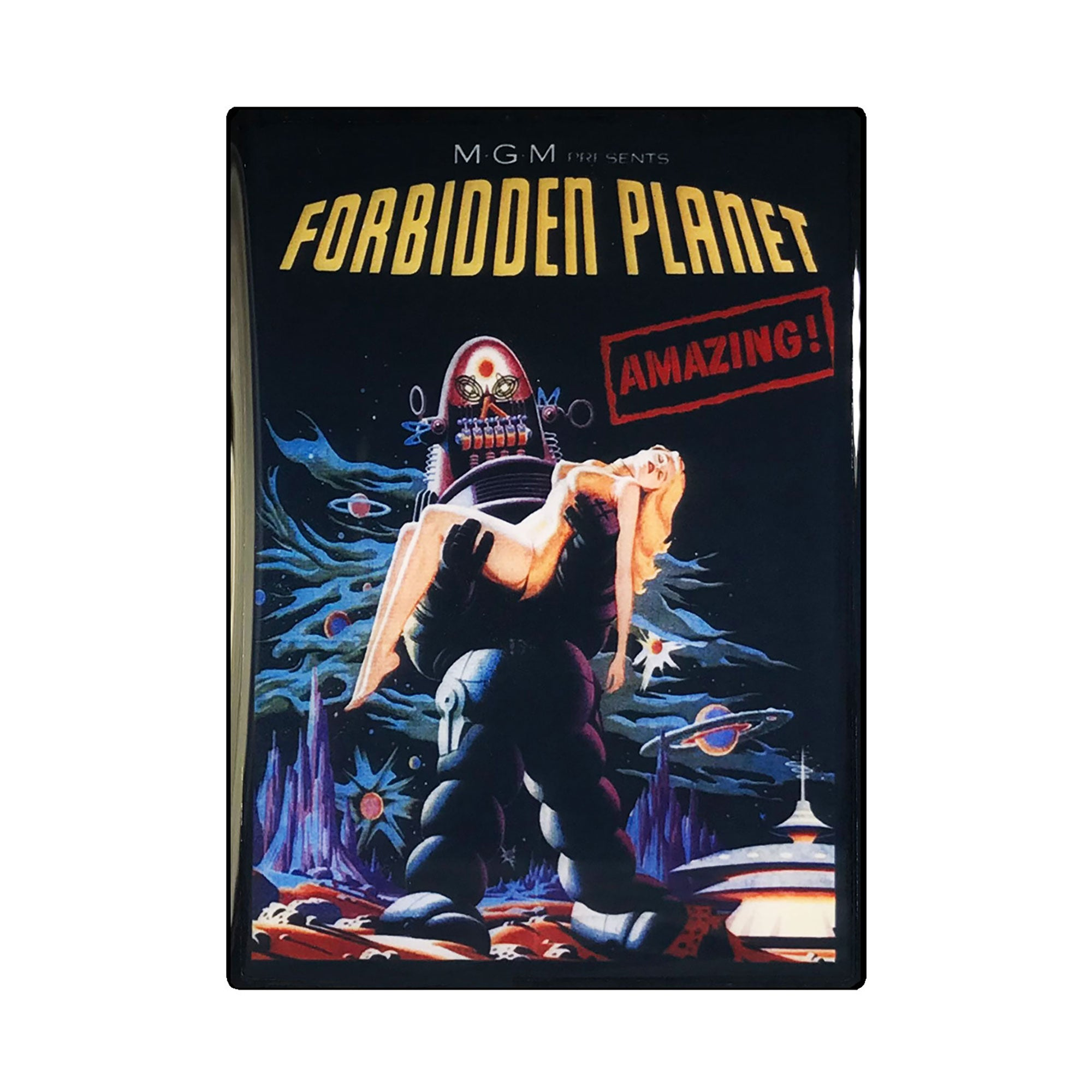 Forbidden Planet Vintage Movie Poster Magnet