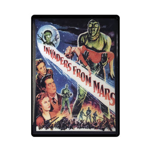 Invaders from Mars Vintage Movie Poster Magnet