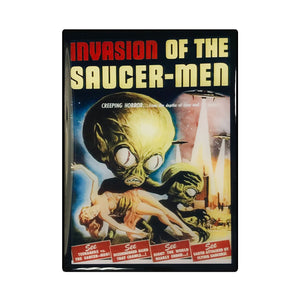 Invasion of the Saucer Men Vintage Movie Poster Magnet