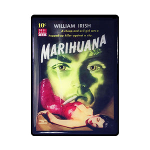 Marihuana Vintage Movie Poster Magnet