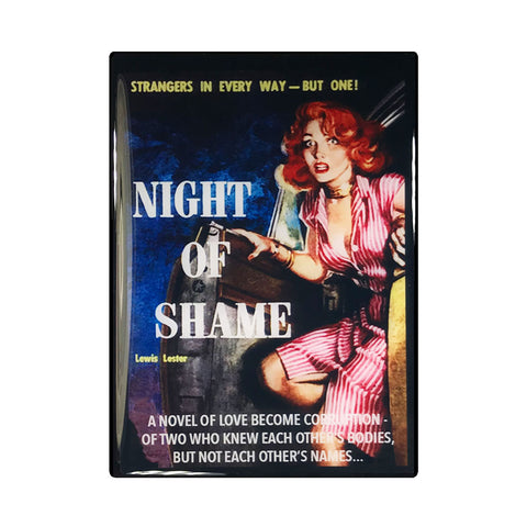Night of Shame Pulp Novel Magnet