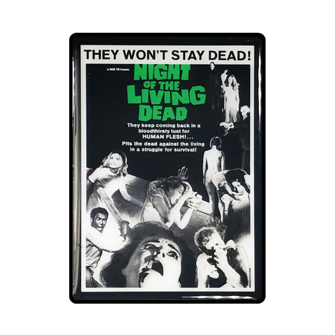 Night of the Living Dead Vintage Movie Poster Magnet