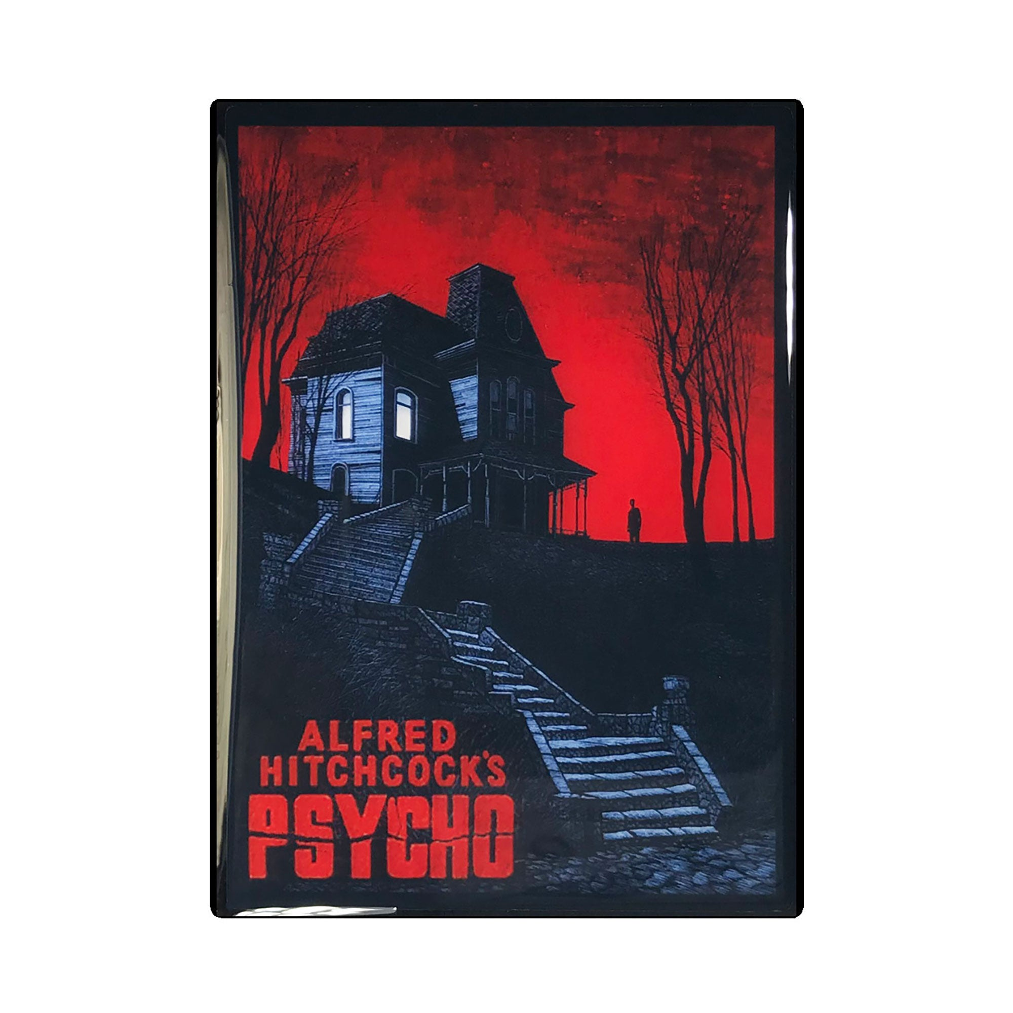 Psycho Vintage Movie Poster Magnet