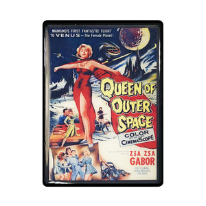 Queen of Outer Space Vintage Movie Poster Magnet