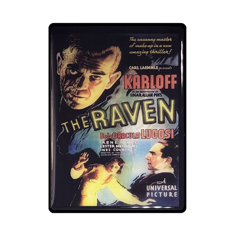 The Raven Vintage Movie Poster Magnet
