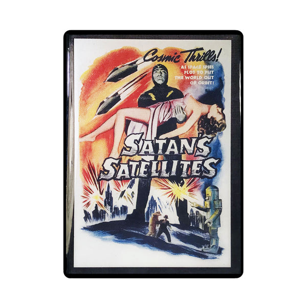 Satans Satellites Vintage Movie Poster Magnet