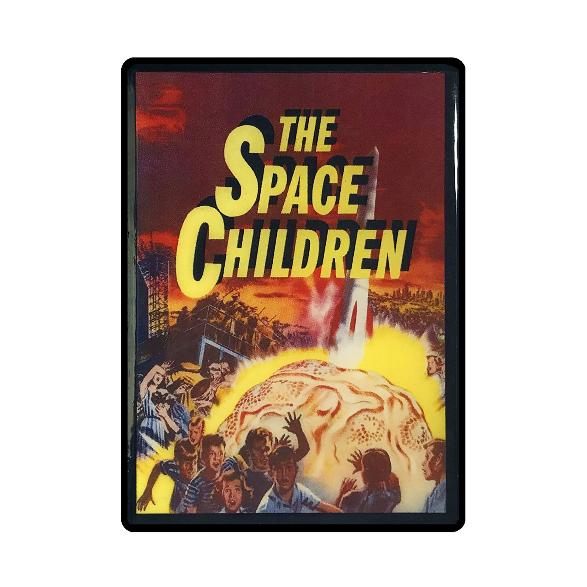 The Space Children Vintage Vintage Movie Poster Magnet