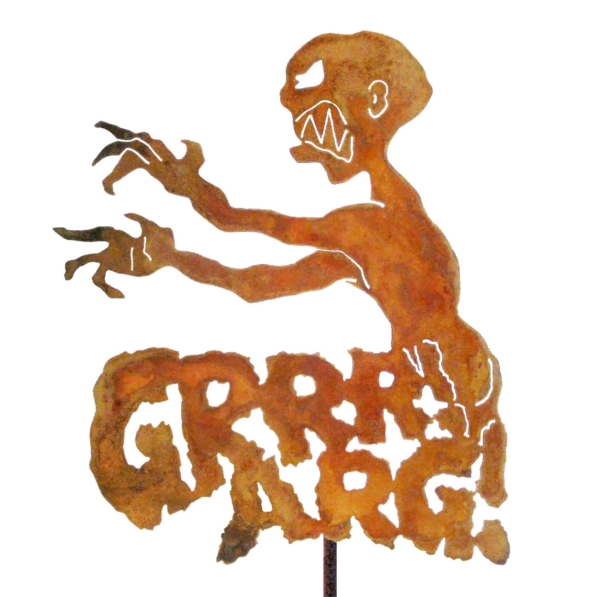 Grrrr Arg Garden Stick Sign