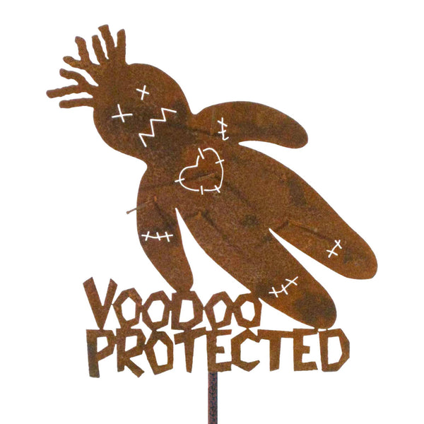 VooDoo Protected Garden Stick Sign