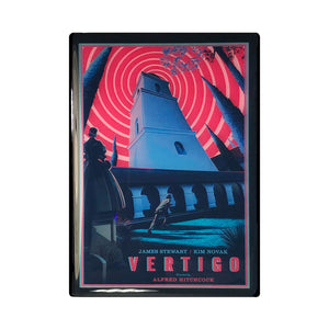 Vertigo Vintage Movie Poster Magnet
