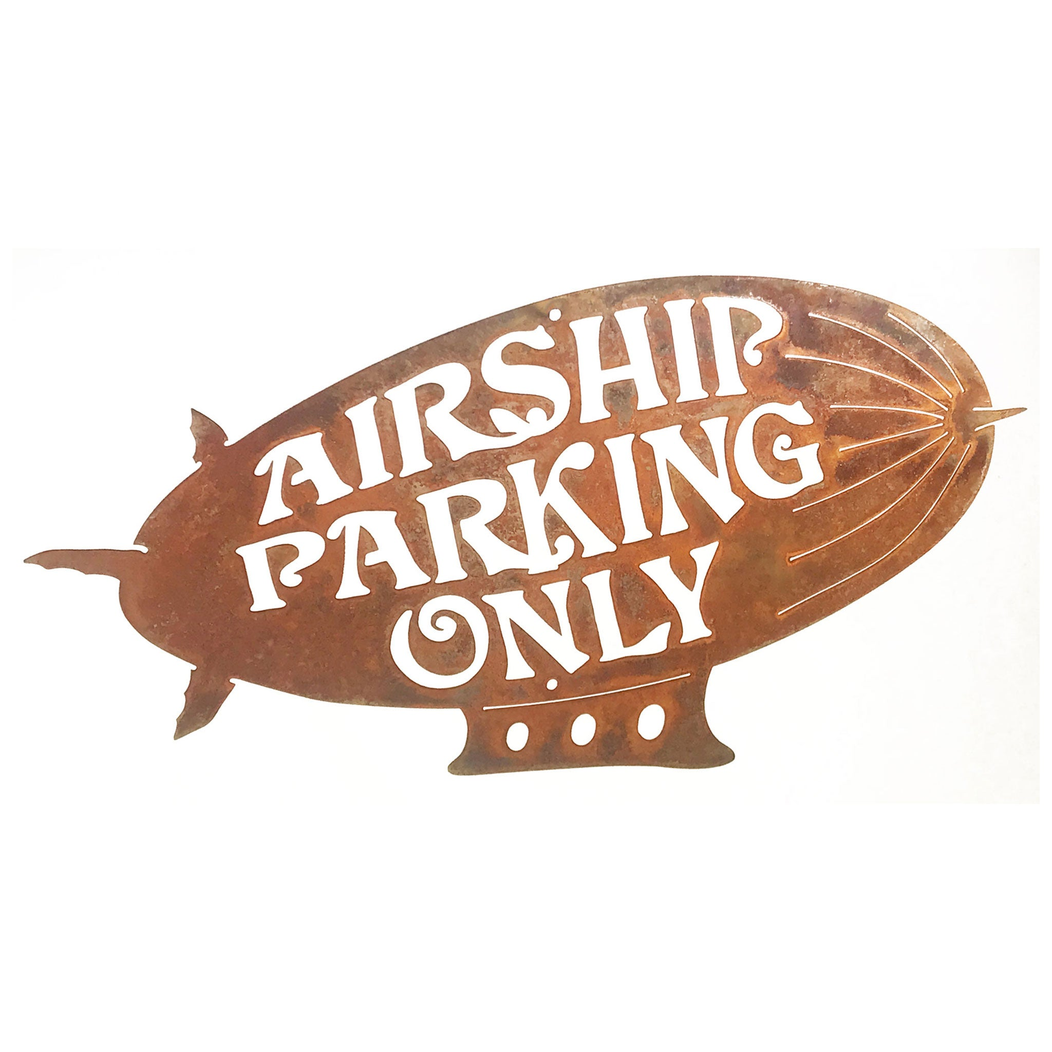 Airship Parking Only Wall Mount Sign