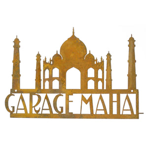 Garage Mahal Wall Mount Sign