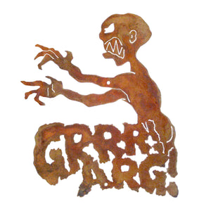 Grrrr Arg Wall Mount Sign