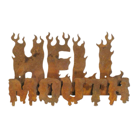 Hell Mouth Wall Mount Sign