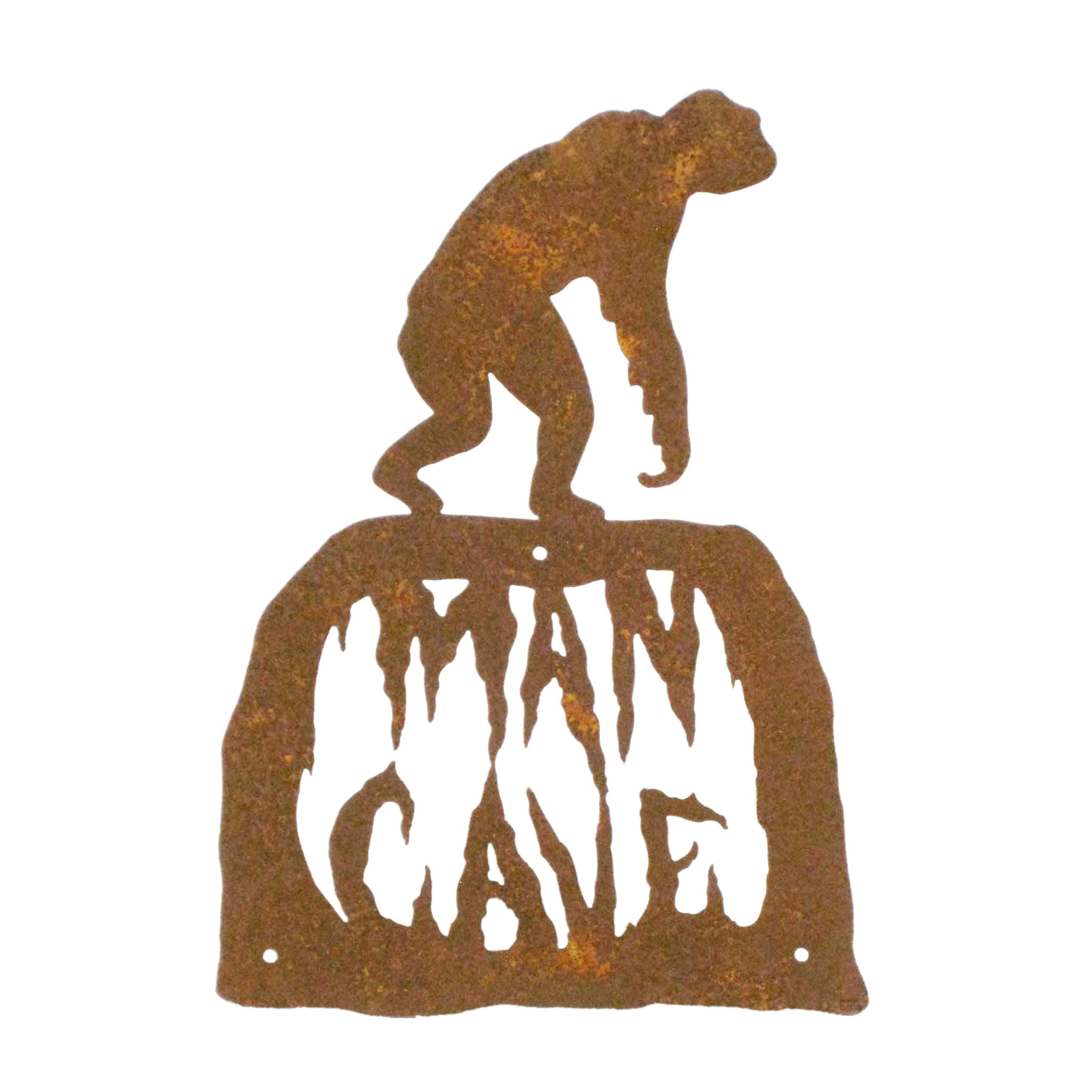 Man Cave Wall Mount Sign