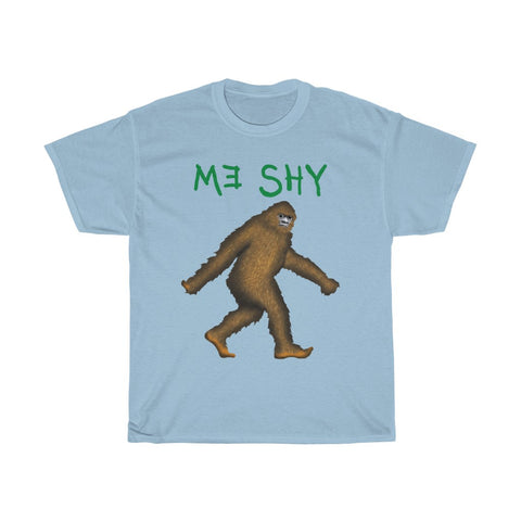 Bigfoot Me Shy - Men's T-Shirt - FREE shipping in US