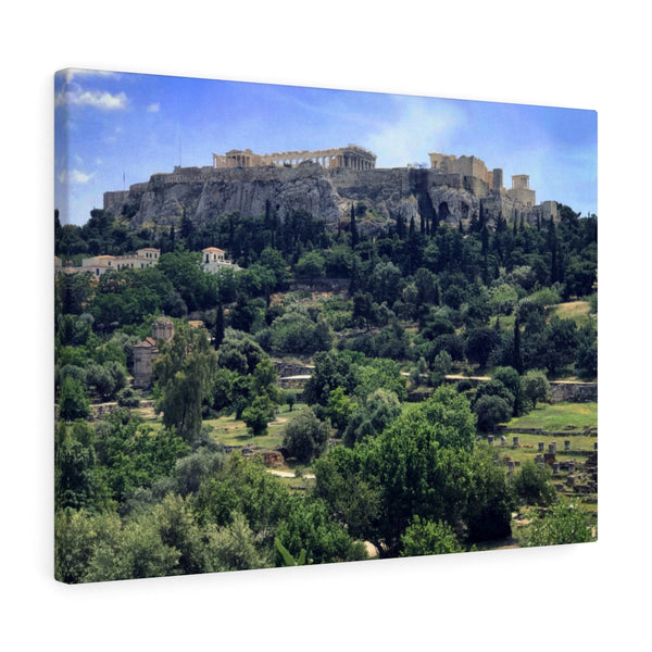 Parthenon Acropolis Canvas Print, Athens, Greece