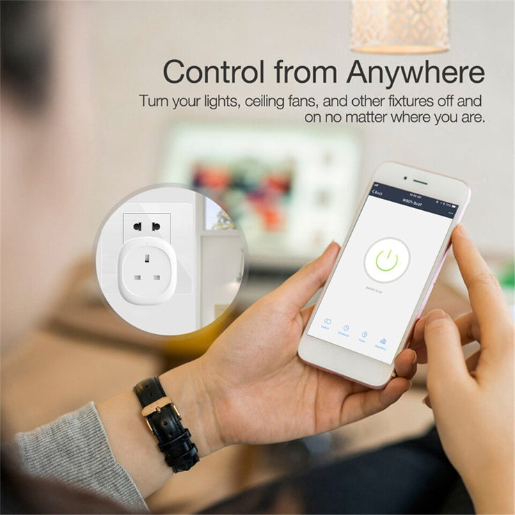 WiFi UK Smart Socket Power Plug with Energy Monitor