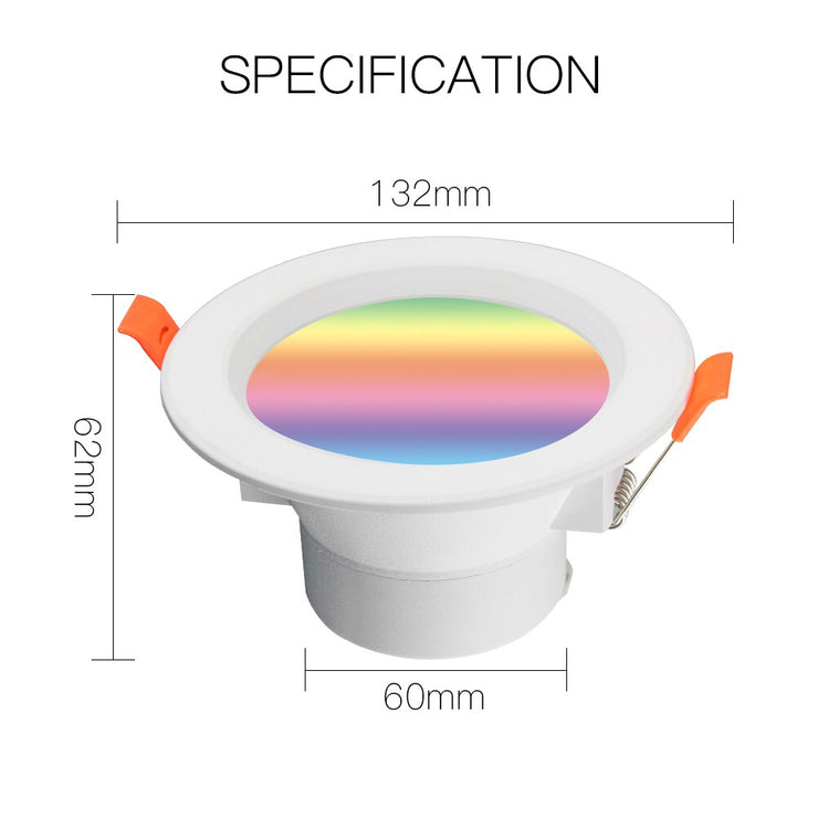 WiFi Smart LED Downlight Dimming Round Spot Light