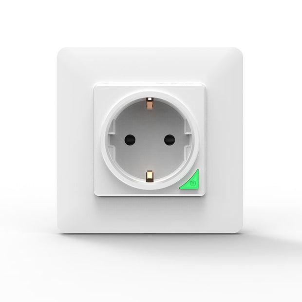 WiFi DE EU Smart Socket Removable Detachable from Wall Plate White Black