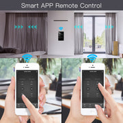 New Smart Glass Panel Switch Smart Life/Tuya App Multi-Control Association, Voice Control with Alexa,Google Home,1/2/3 Gang