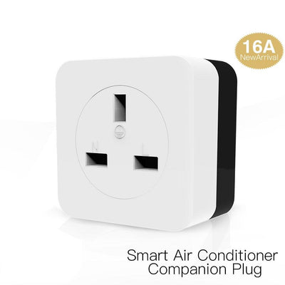 WiFi Smart 16A Air Conditioner Companion IR Remote Controller Wall Plug UK Version - Moes