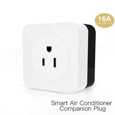 WiFi Smart 16A Air Conditioner Parter IR Remote Wireless Controller Wall Plug Socket Outlet US Version - Moes