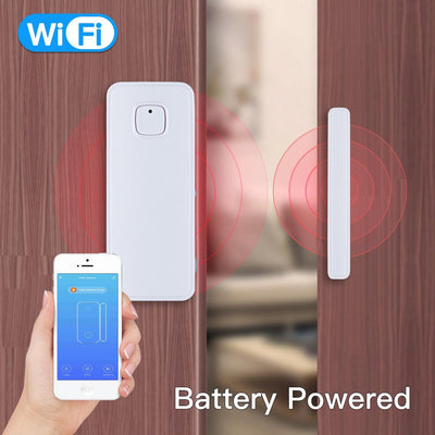 WiFi Smart Door/Window Sensor Battery Powered - Moes
