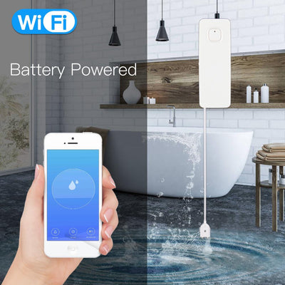 WiFi Smart Flood Sensor Battery Powered - Moes
