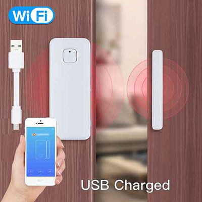 WiFi Smart USB Door/Window Sensor - Moes