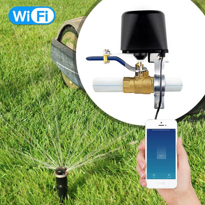 WiFi Smart Water Valve For Gas Water Irrigation - Moes