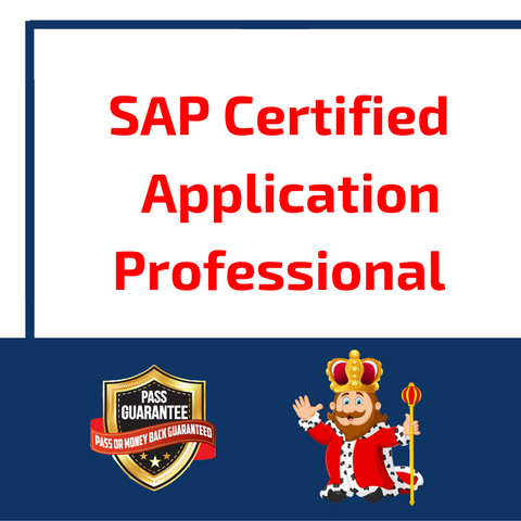 SAP Certified Application Professional